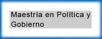 Tesis de Maestría en Política y Gobierno