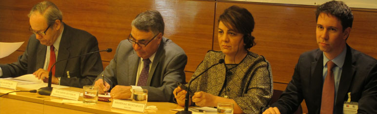 Canciller(s) inauguró Conferencia Regional sobre Seguridad Humana en América Latina realizada en FLACSO-Chile