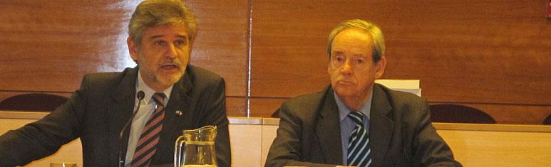 """El embajador Daniel Fernando Filmus dictó conferencia """"Malvinas. Colonialismo en el siglo XXI"""", en FLACSO-Chile"""