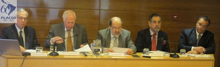En la Sala de Conferencias Norbert Lechner se realizó seminario sobre la crisis en Corea del Norte: Dimensiones estratégicas y políticas