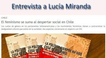 Entrevista a Lucía Miranda, Investigadora Flacso-Chile
