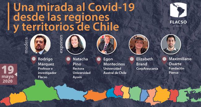 Conversatorio: Una mirada al COVID-19 desde las Regiones y territorios de Chile