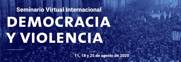 Seminario Virtual Internacional: Democracia y violencia