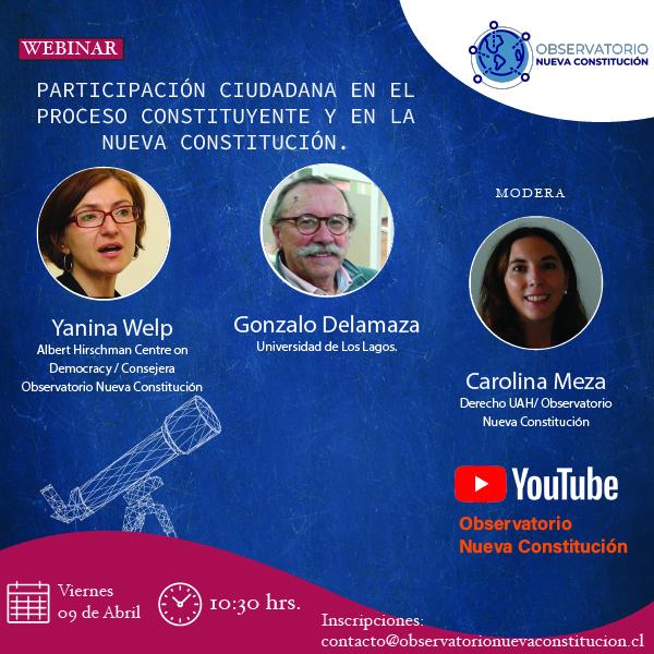 Participación Ciudadana en el Proceso Constituyente y en la Nueva Constitución