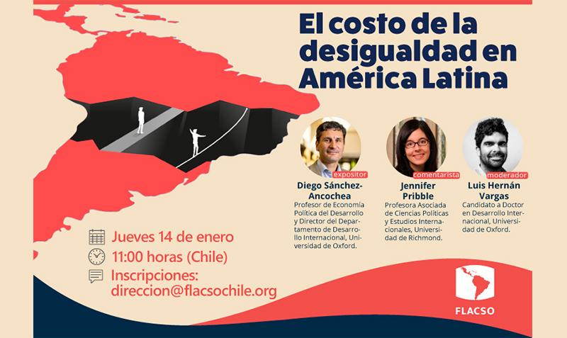 Charla: El costo de la desigualdad en América Latina